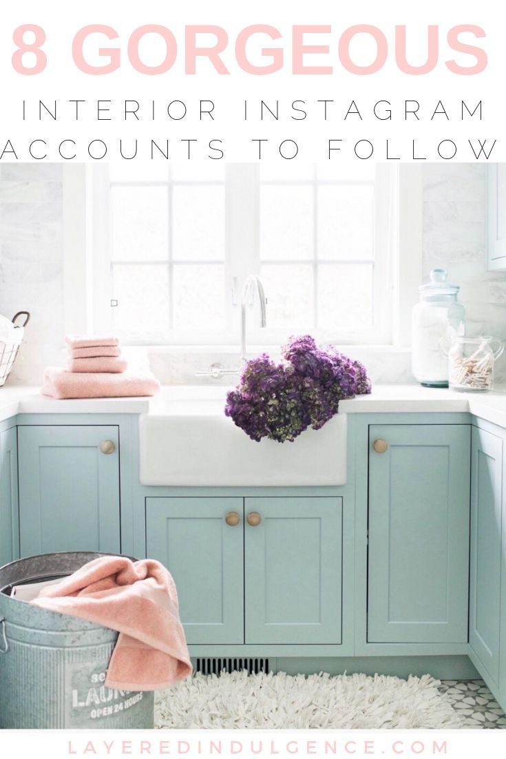 The Best Interior Design Instagram Accounts To Follow For Major