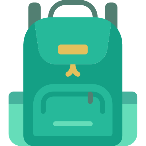 Backpack Free Vector Icons Designed By Smashicons In 2021 Vector Icon Design Backpack Free Vector Free