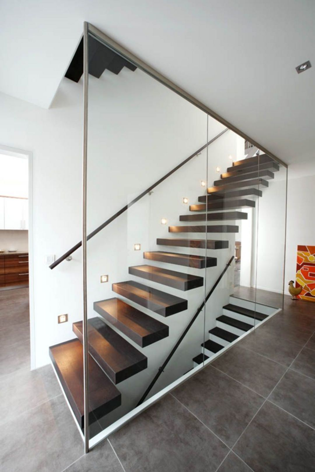 Best 30 Brilliant Modern Indoor Stair Design Ideas You Must See 400 x 300