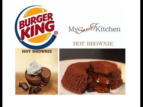 hot brownie wie von burger king hot brownie selber. Black Bedroom Furniture Sets. Home Design Ideas