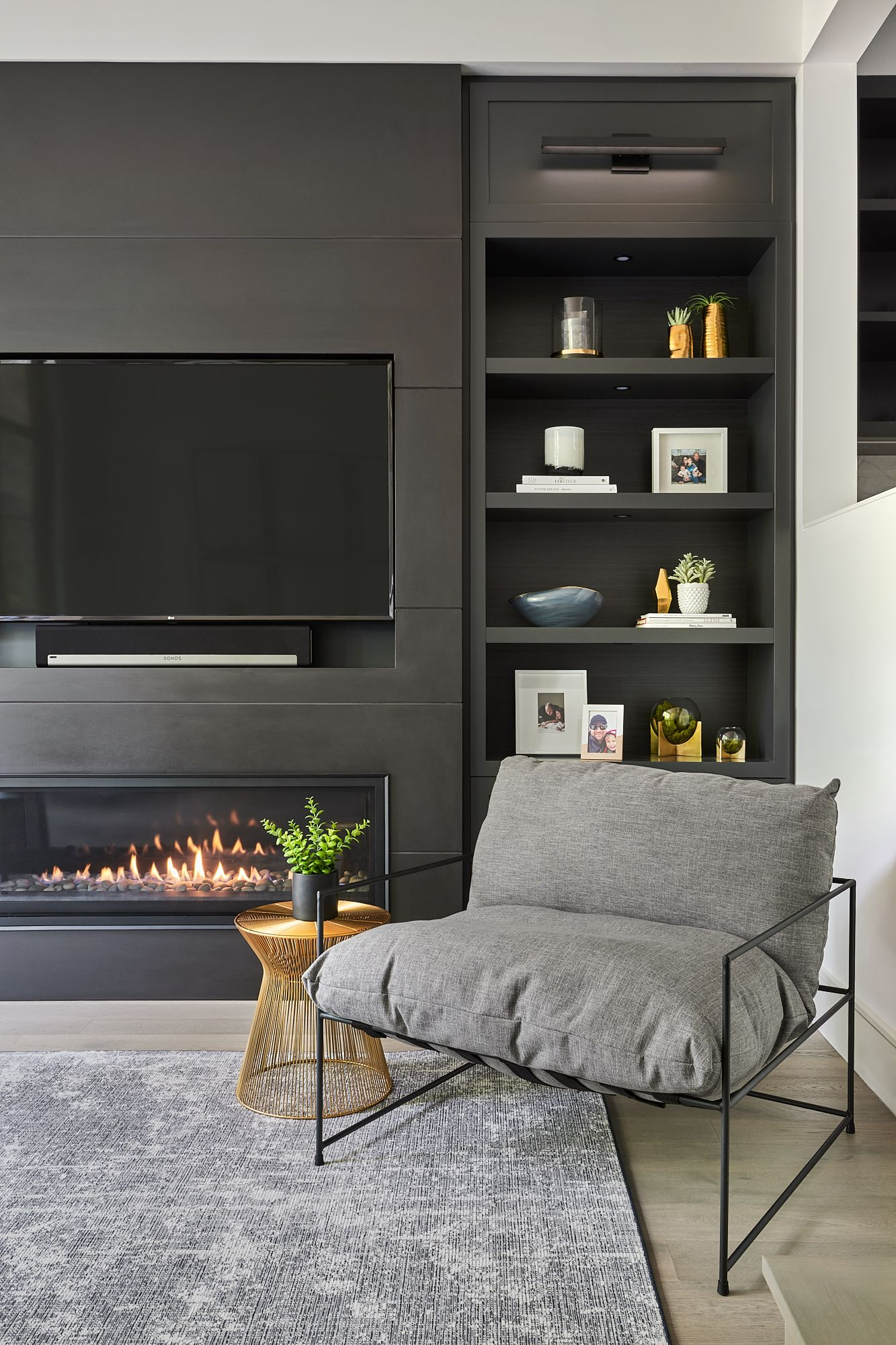 Modern Fireplace And Tv Wall Unit Interior Design Living Room Wall Units Feature Wall Living Room Living Room Tv Unit