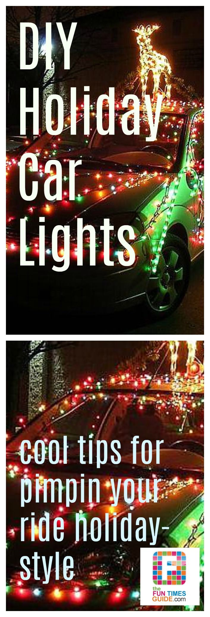 how to put christmas lights on your car see the type of you - Christmas Decorations For Your Car