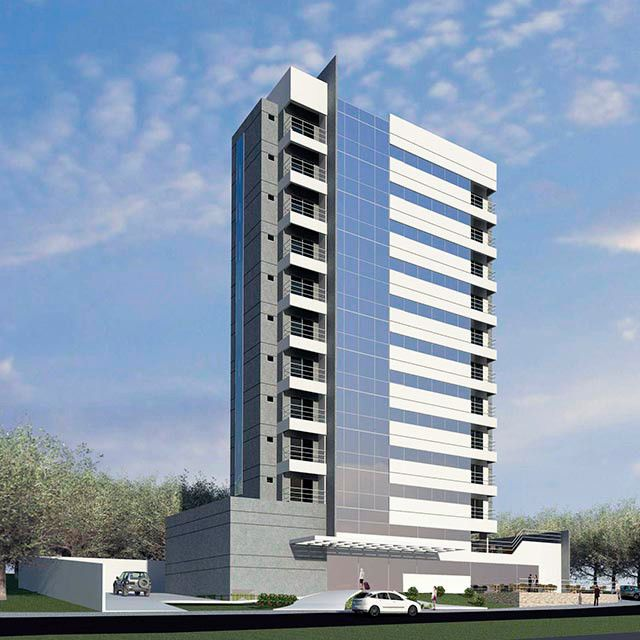 Arquitetura hoteleira apartmanlar pinterest for Fachadas apartamentos modernos