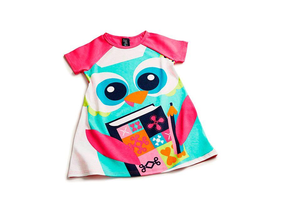 Camisola Corujinha Crer para Ver -  A camisola corujinha, além de divertida e linda, deixa a hora do sono ainda mais aconchegante. [...]