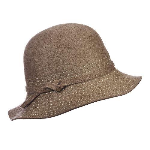 a5e46c30427 Bernadette - LV351 - Callanan Wool Felt Cloche Hat