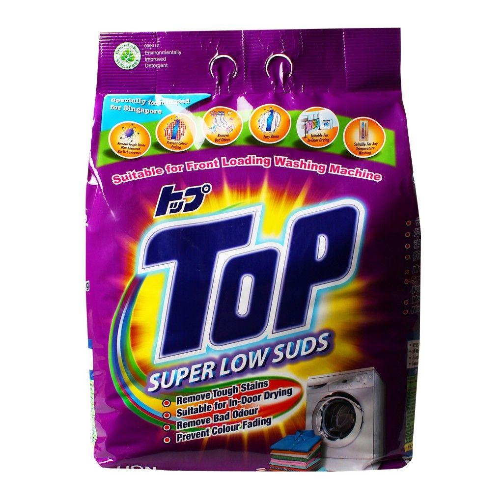 Top Super Low Suds Powder Detergent http