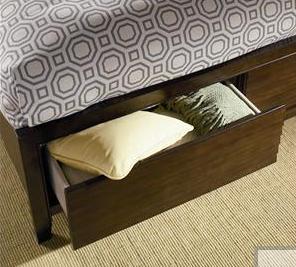 Hidden Storage Drawers Under Bed