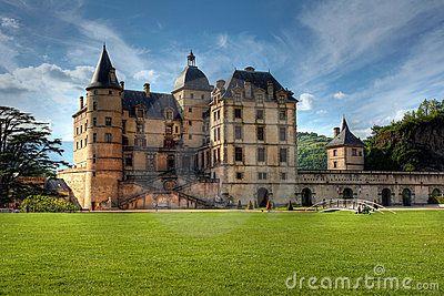 The Castle Of Vizille Near Grenoble. France Stock Photo