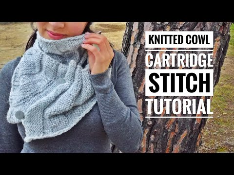 Photo of HOW TO MAKE A COWL IN CARTRIDGE STITCH – TUTORIAL STEP BY STEP FOR BEGINNER [LOOM KNITTING DIY]