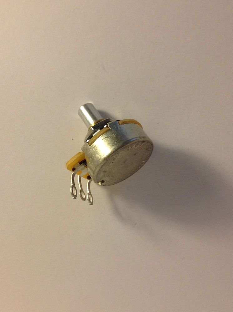 1x CTS 450s 1 Meg Audio Taper Solid Shaft Potentiometer