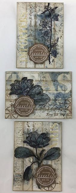 Live the Dream .......: New Stamp Release : PaperArtsy Vintage Botanical
