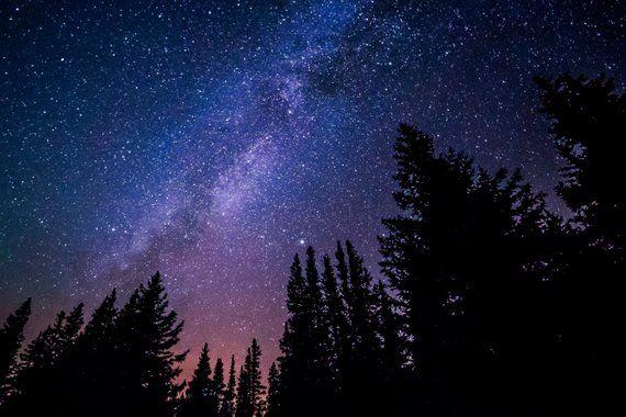 Stars Milky Way Starry Sky Stars Photo Astronomy