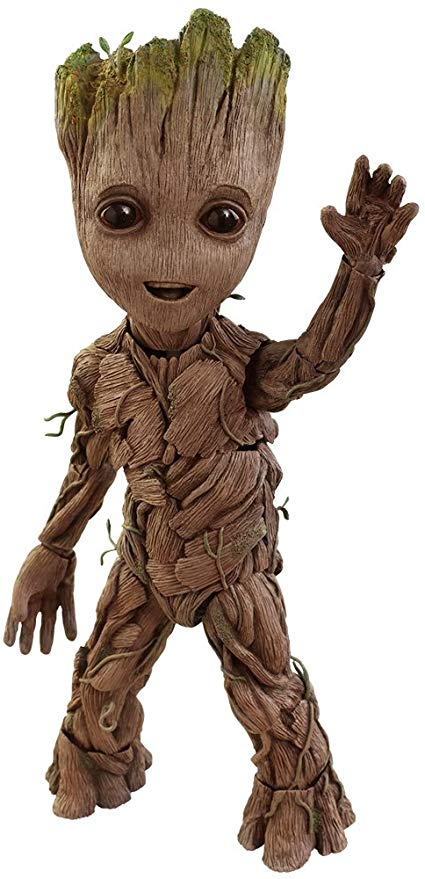 Amazon Com Hot Toys Marvel Guardians Of The Galaxy Vol 2 Baby Groot Life Size Action Figure Toys Games Marvel Comics Wallpaper Baby Groot Groot Toy