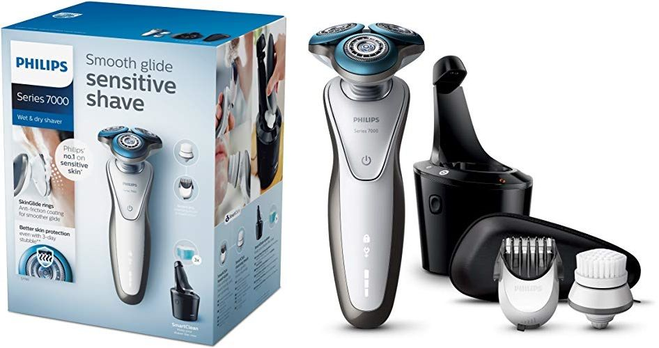 Chollo Máquina De Afeitar Philips Shaver Series 7000 S7780 64 Por 99 Euros Maquina De Afeitar Afeitar Cuchillas De Afeitar