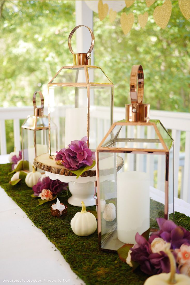 Beautiful + Inexpensive Fall Bridal Shower Ideas Elegant