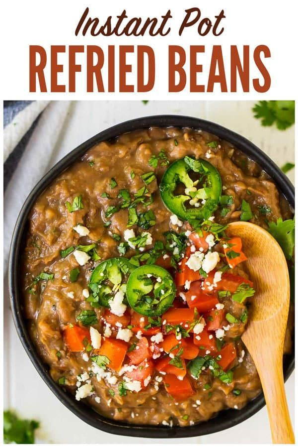 How To Make The Best Instant Pot Refried Beans Easy No Soak