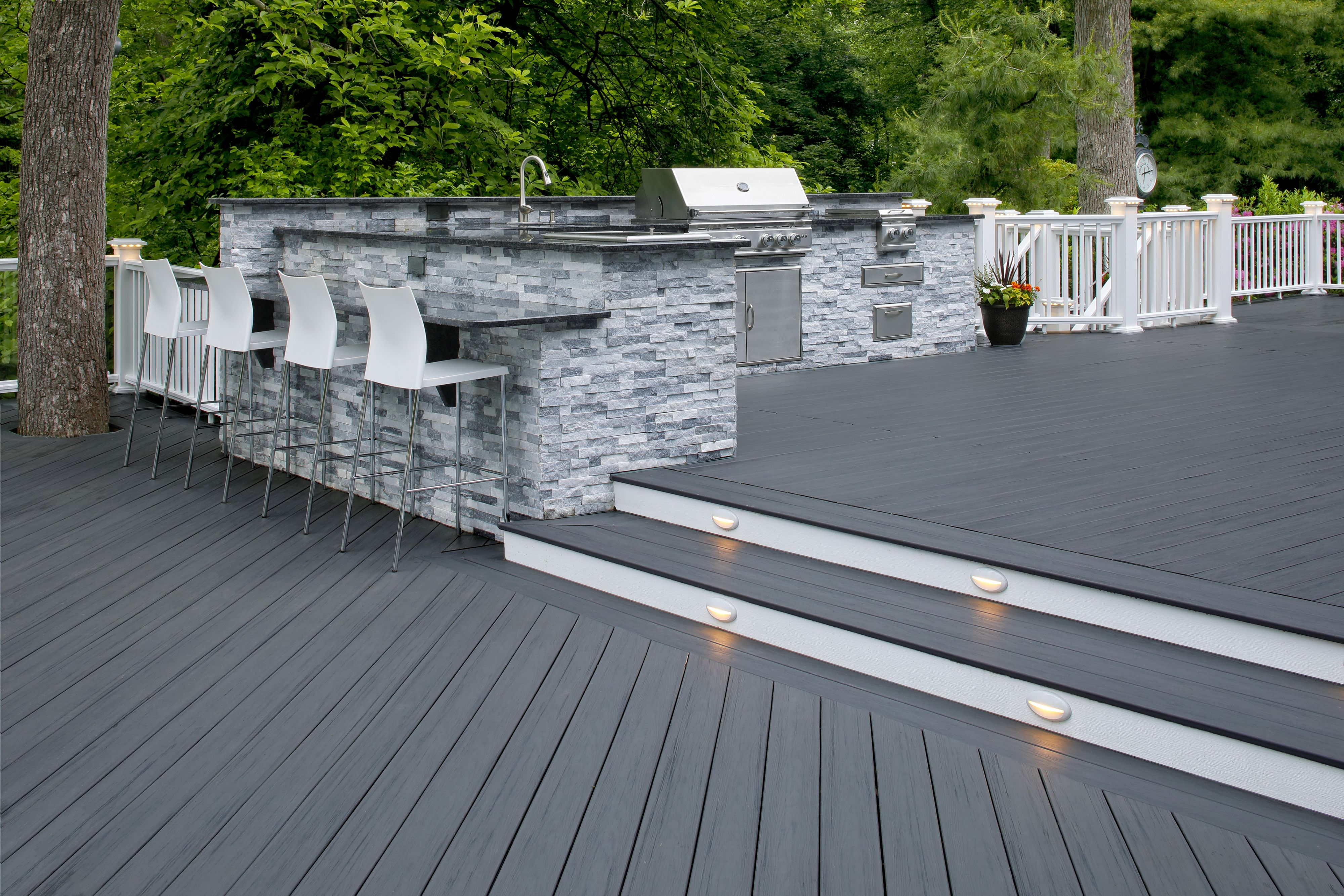 Timbertech In Amazon Mist From The Tropical Collection Composite Decking Patio Plans Deck