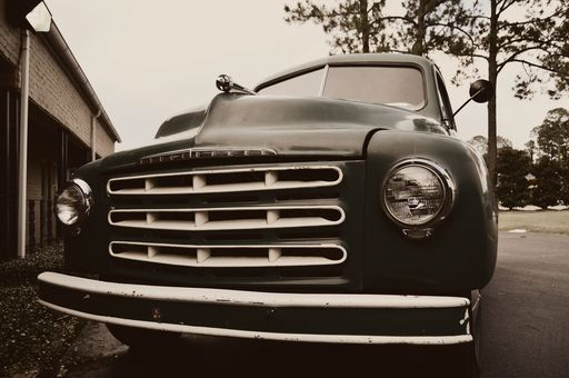 """Check out my art piece """"Studebaker Smile"""" on crated.com"""