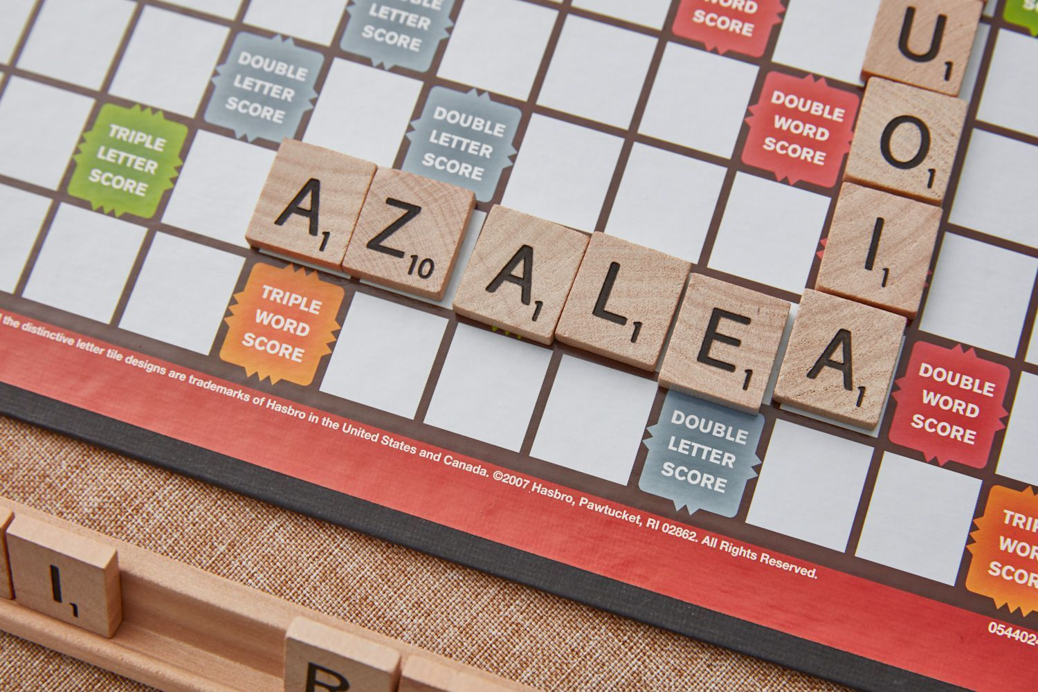 If you get stuck with a rack full of vowels in Scrabble