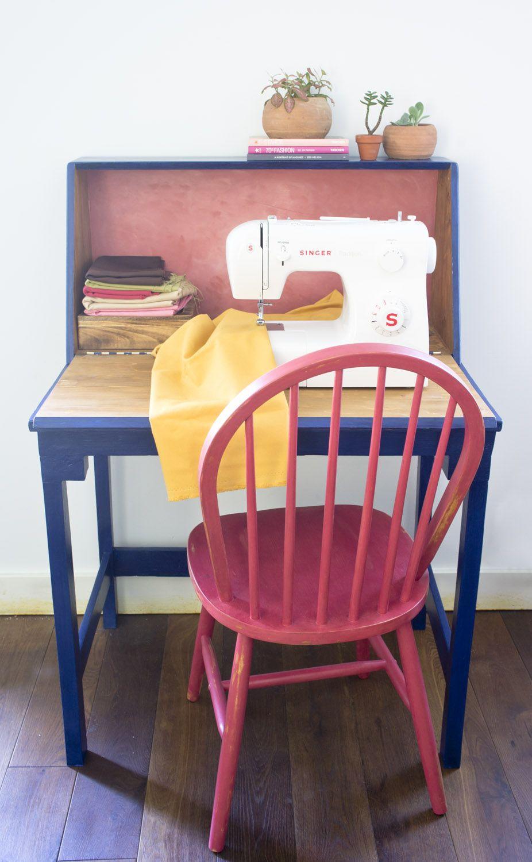 Antes Y Despu S Mueble Para La M Quina De Coser Br Before  # Muebles Maquina De Coser Segunda Mano