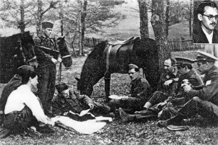 En bosnie fin 1944 le capitaine uros susteric - Capitaine americain ...