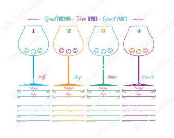 printable wine tasting sheets - Heart.impulsar.co