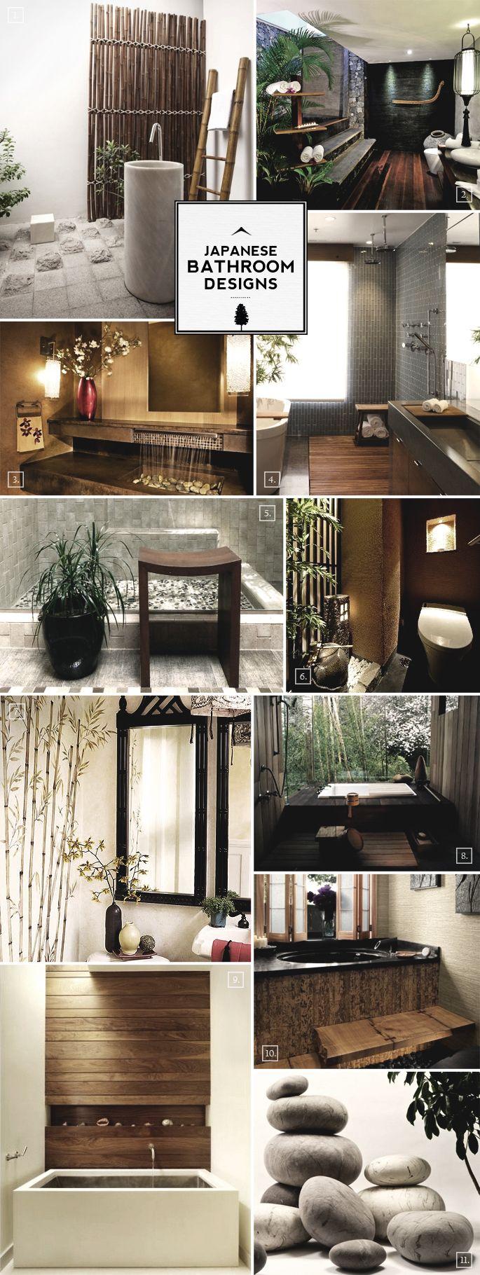 Zen Style Japanese Bathroom Design Ideas Japanese Bathroom