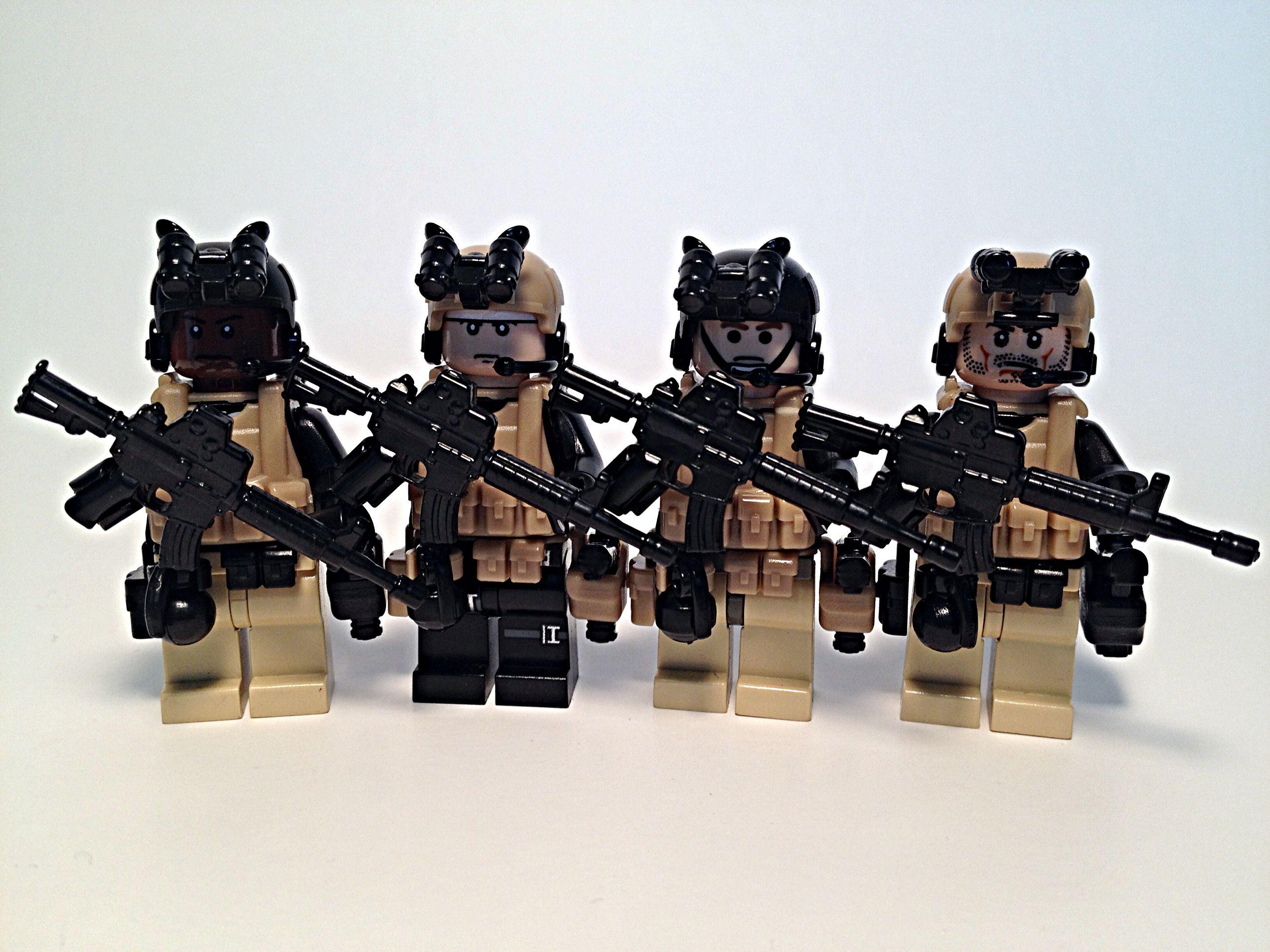 Lego Navy SEAL Team 6