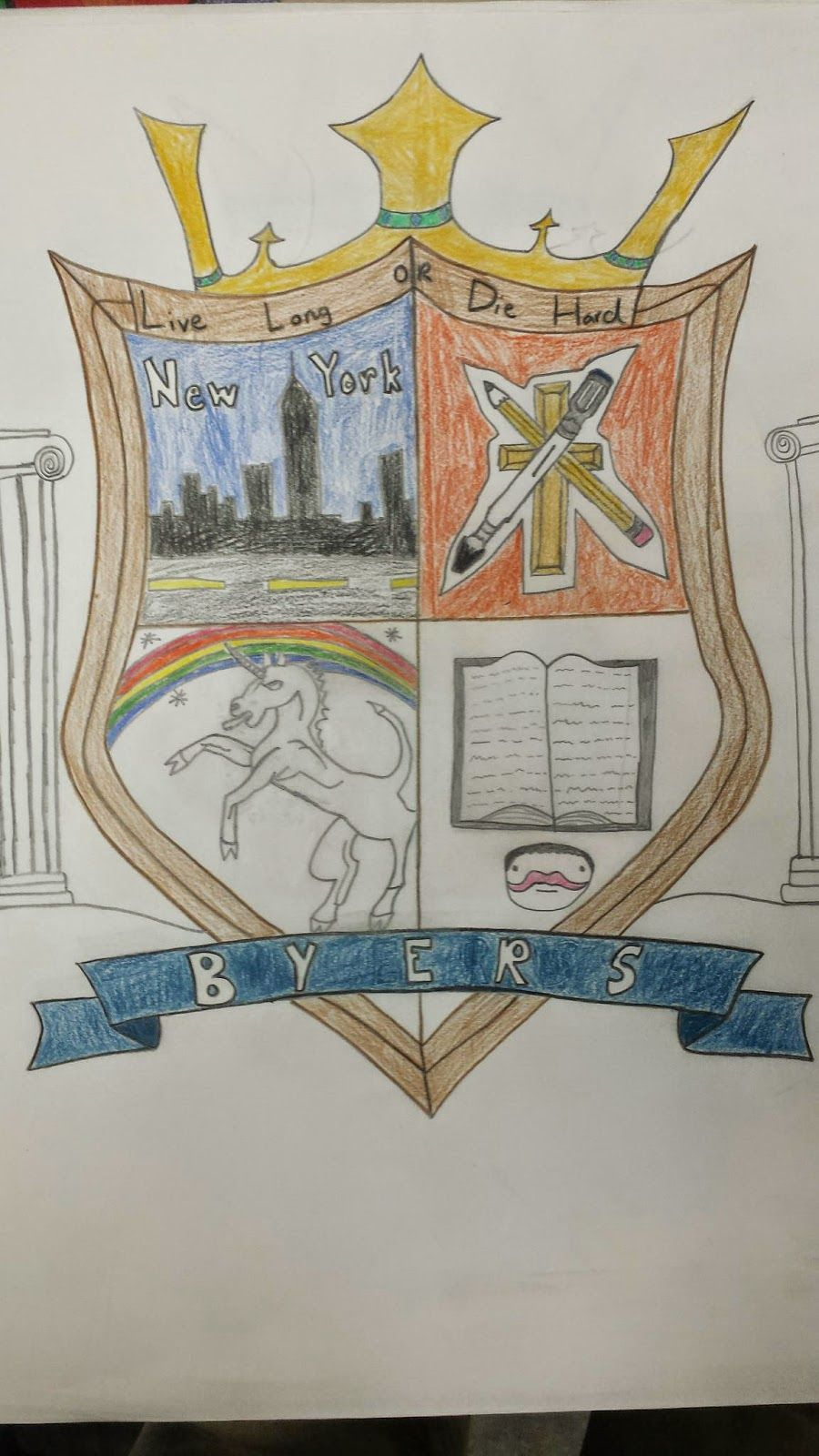 personal coat of arms example