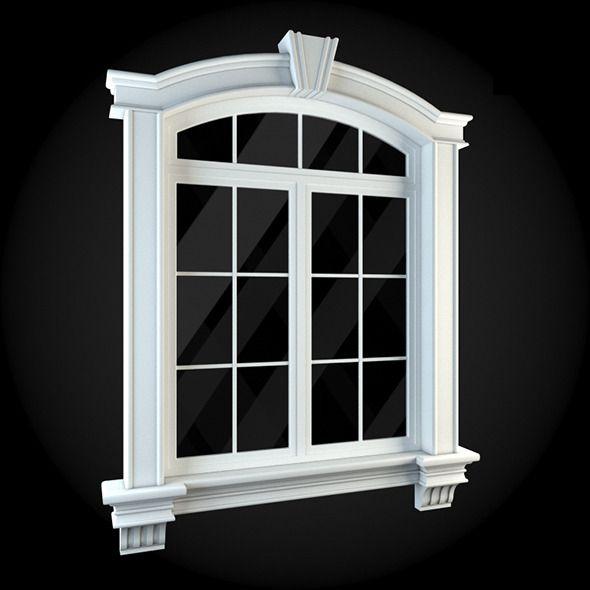 Window 041. House 3D Model. #3D #3DModel #3DDesign