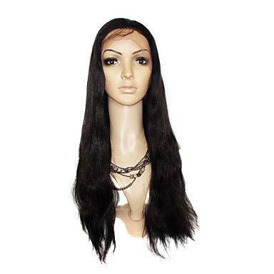 Lace Front Extra Long Silky Straight 100% India Reme Hair Wig Multiple Colors Available