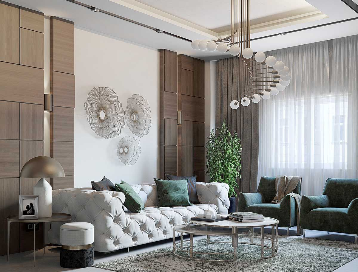 restoration hardware inspired living room decor with rh