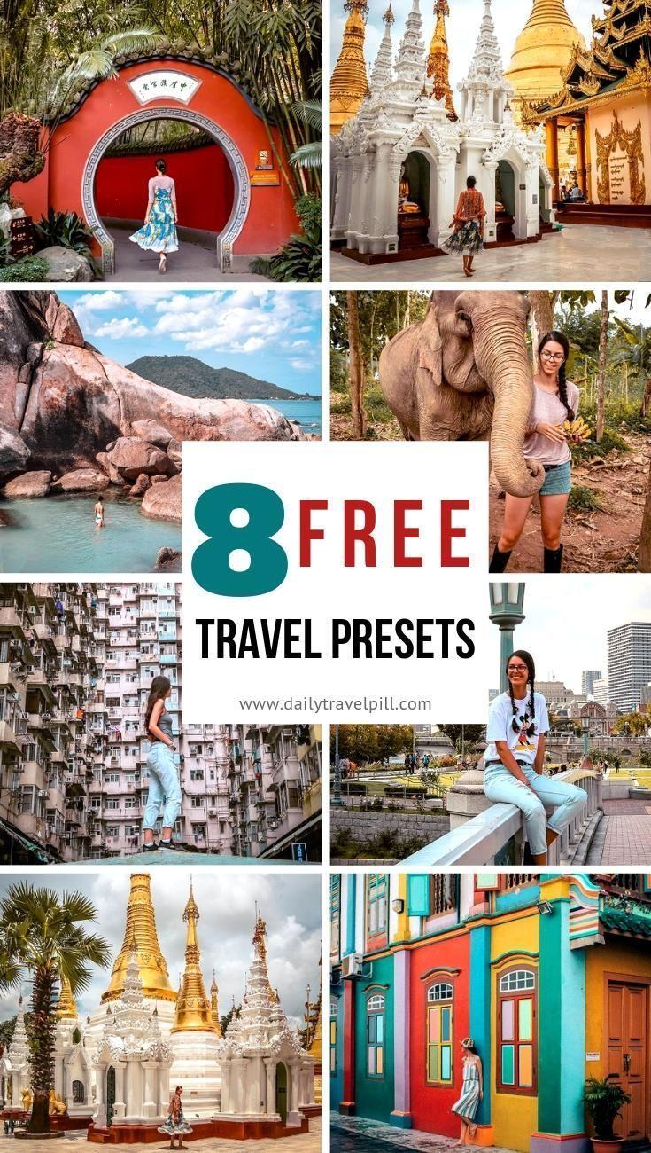 Free travel Lightroom presets for Instagram фотография ...