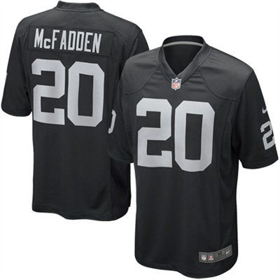 b96718e2b My man would wear this to the tailgate. Nike Darren McFadden Oakland Raiders  Game Jersey - Black  UltimateTailgate  Fanatics