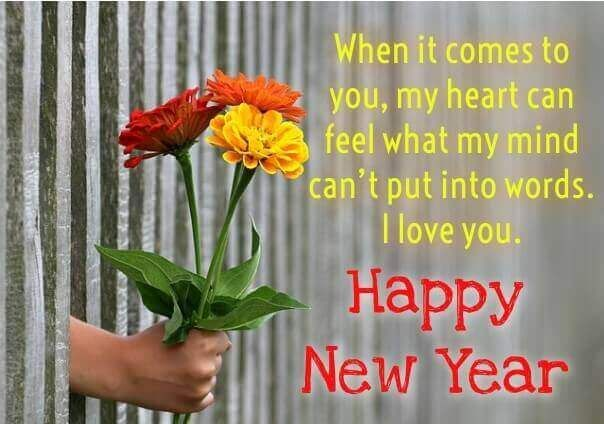 I Love You New Year Quotes 2018 Happy New Year My Love 2019