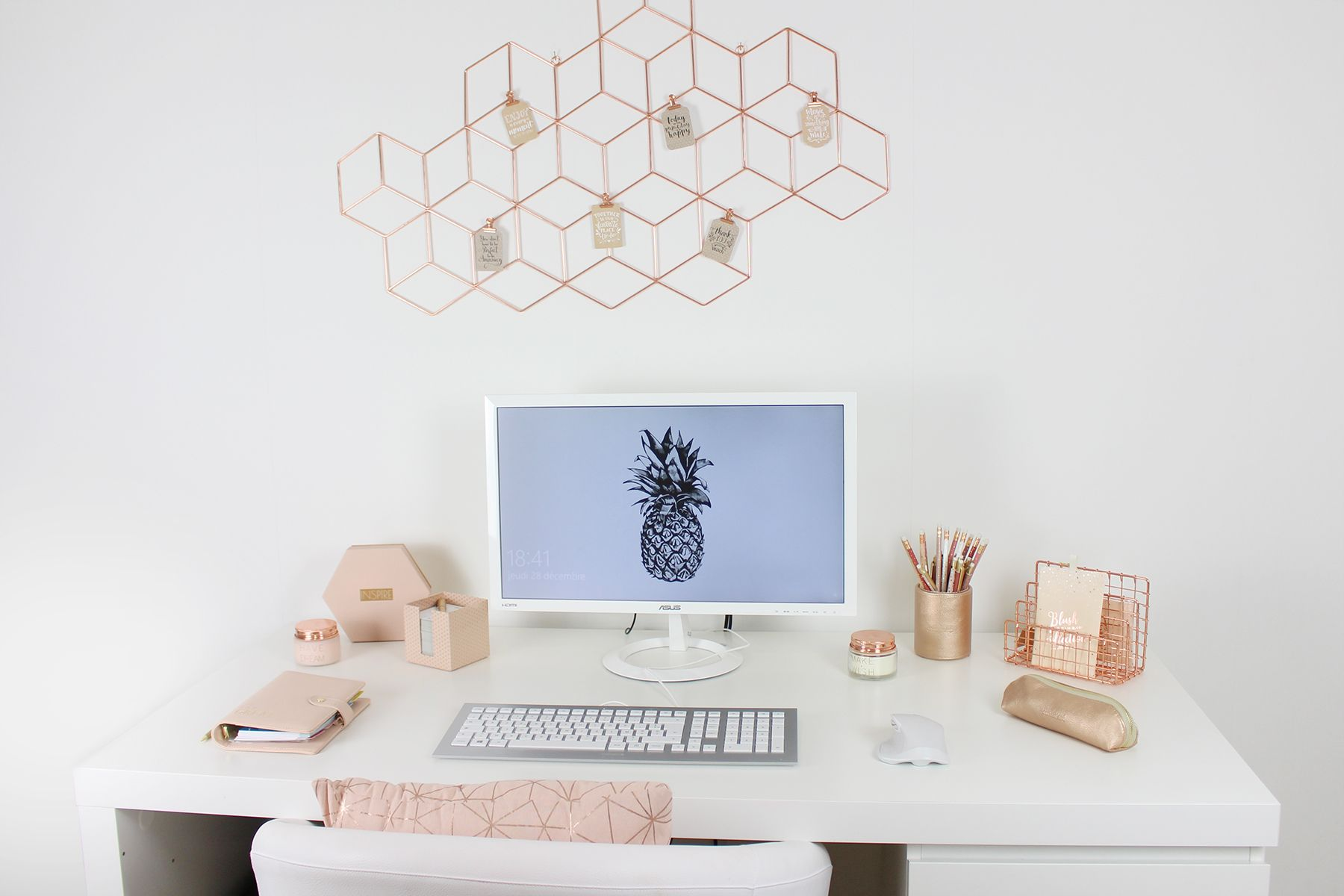 Ma décoration intérieure maisons du monde ikea copper rose