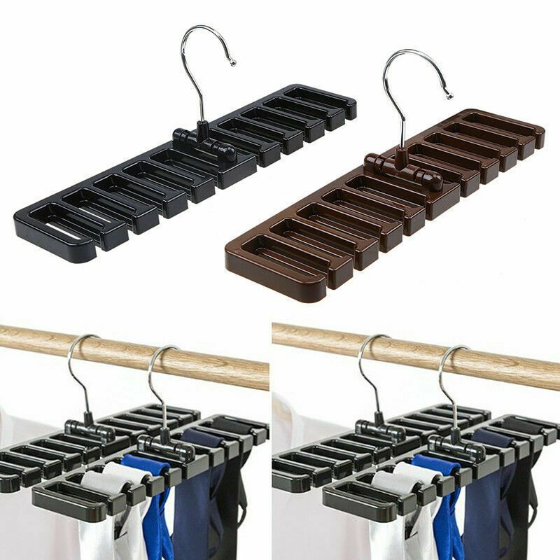 Ties Belt Socks Rack Holder Hanger Closet Wardrobe Storage