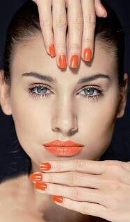 LOVE me some orange.  Orange everything, please.  :)