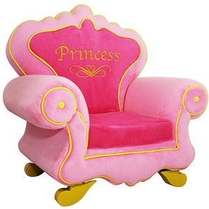 Royal Princess Kids Chair Princess Chair Childrens Chairs Upholstered Kids Chair