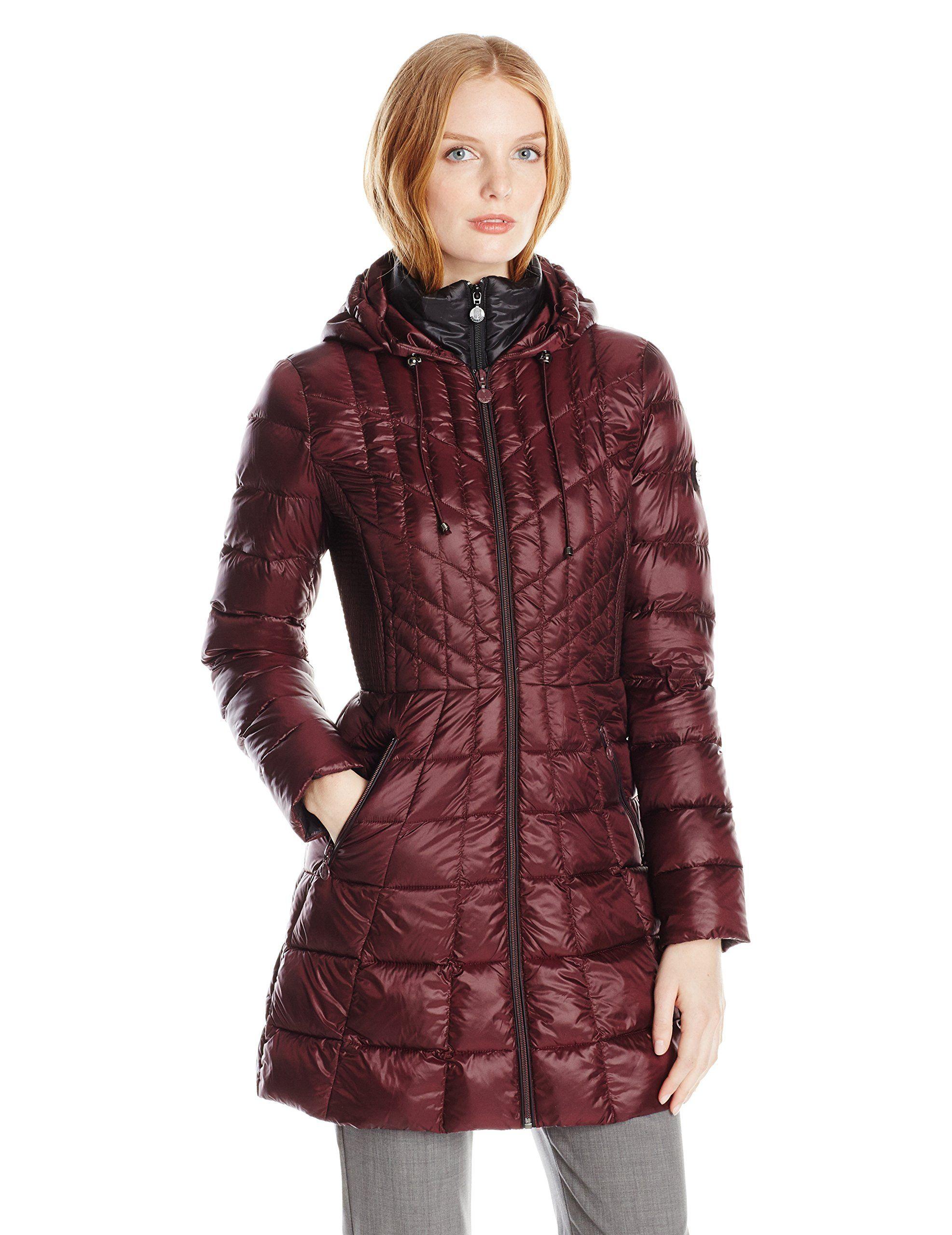 Bernardo Women's Packable Down Coat at Amazon Women's Coats Shop