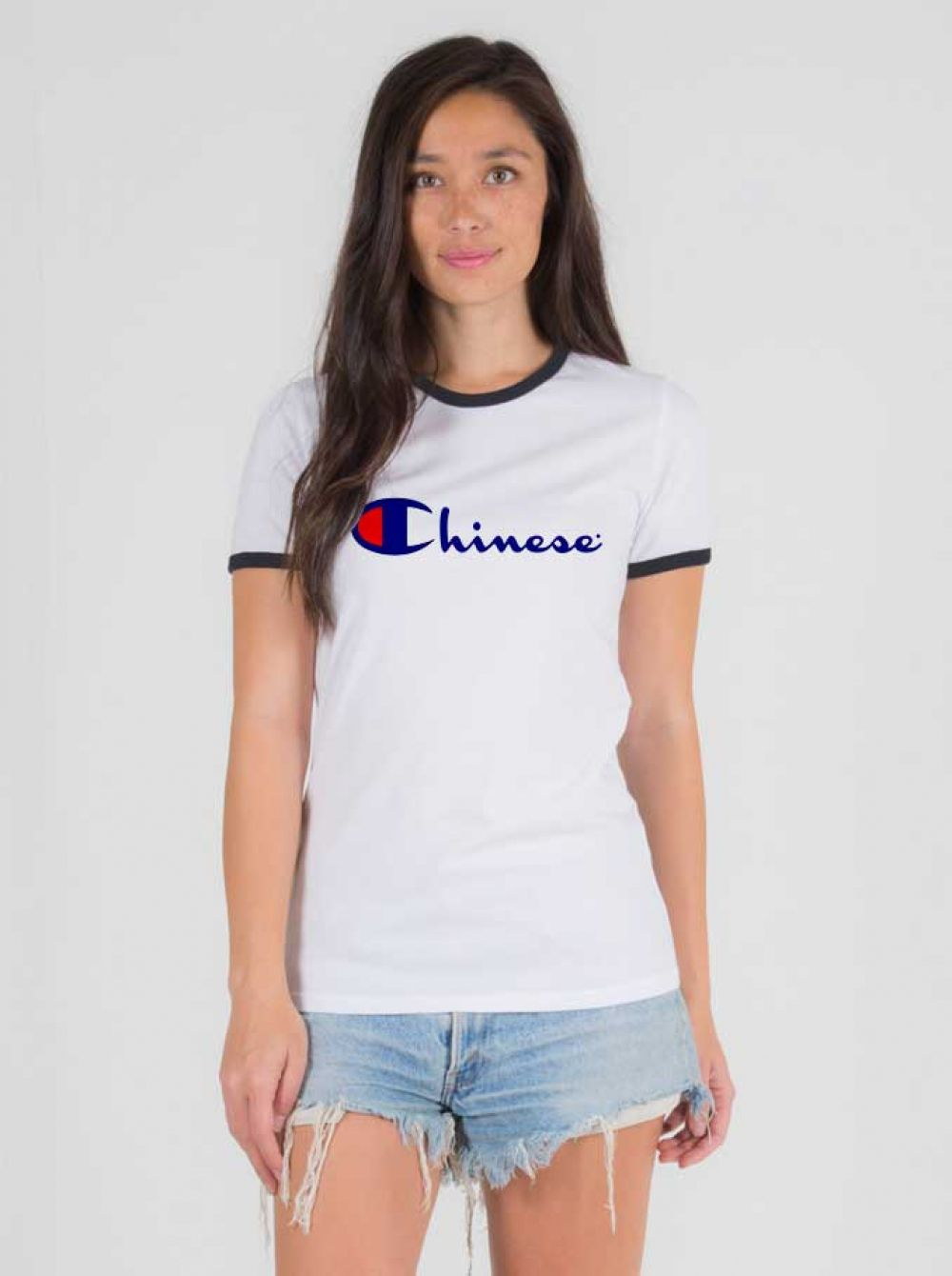 112d354e1 Chinese Champion Ringer Tee $ 14.50 #Tee #Hype #Outfits #Outfit #Hypebeast  #fashion #shirt #Tees #Tops #Teen
