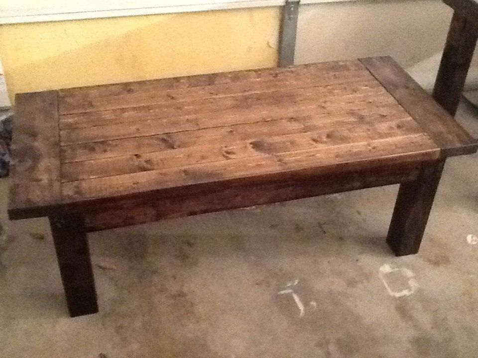 Farmhouse Coffee Table link does not work but table is