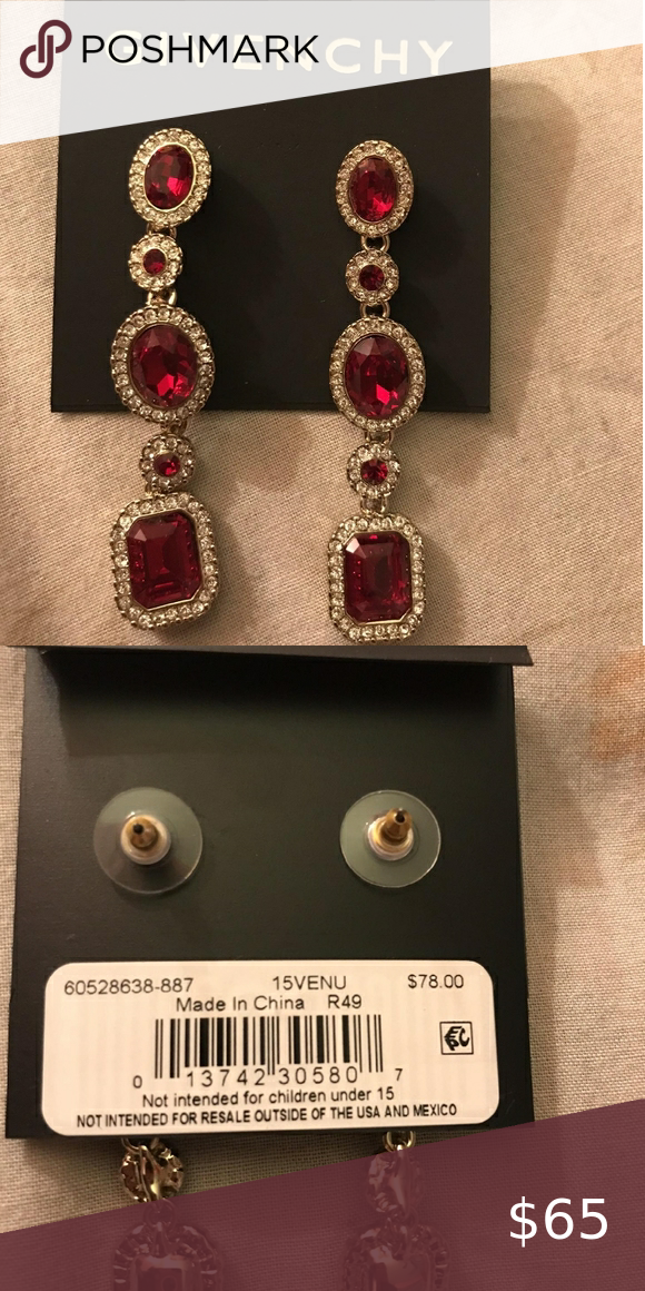Authentic Givenchy Earrings Brand New In 2020 Givenchy Earrings Givenchy Jewelry Earrings