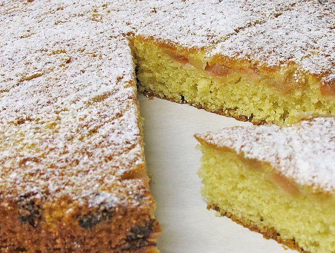 Ein Sehr Einfacher Kuchen Der Vor Allem In Der Zubereitung Sehr