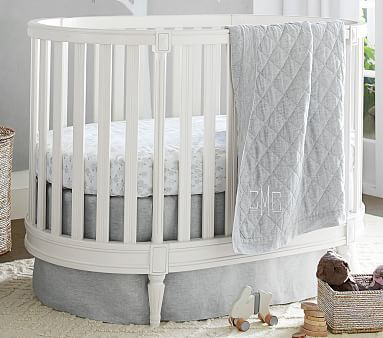Plus, Itu0027s Perfectly Sized For Our New, Oval Shaped Cribs. Find This Pin  And More On Pottery Barn Baby ...