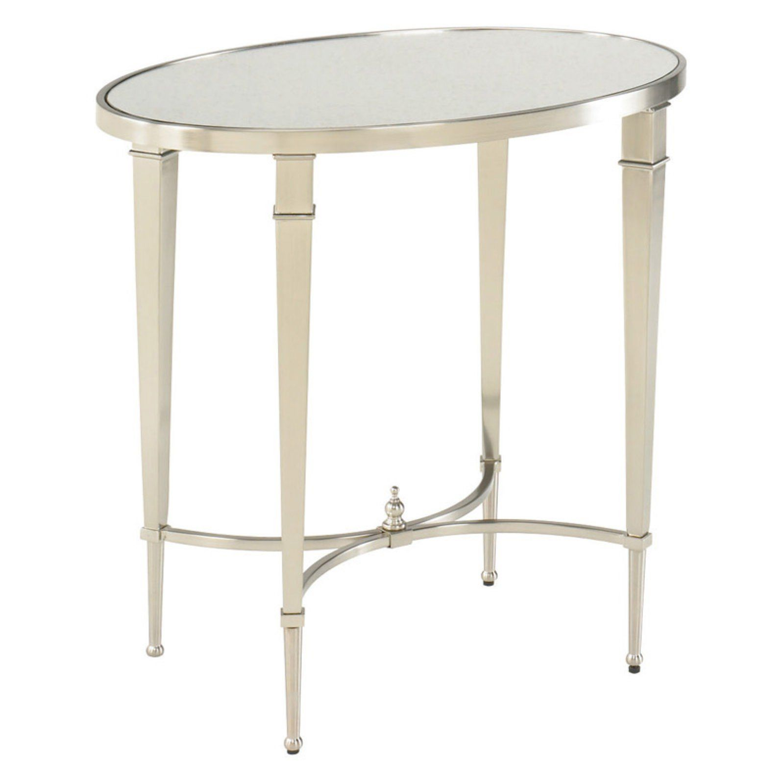 Hammary Mallory Oval End Table End Tables Mission Style End Tables Table