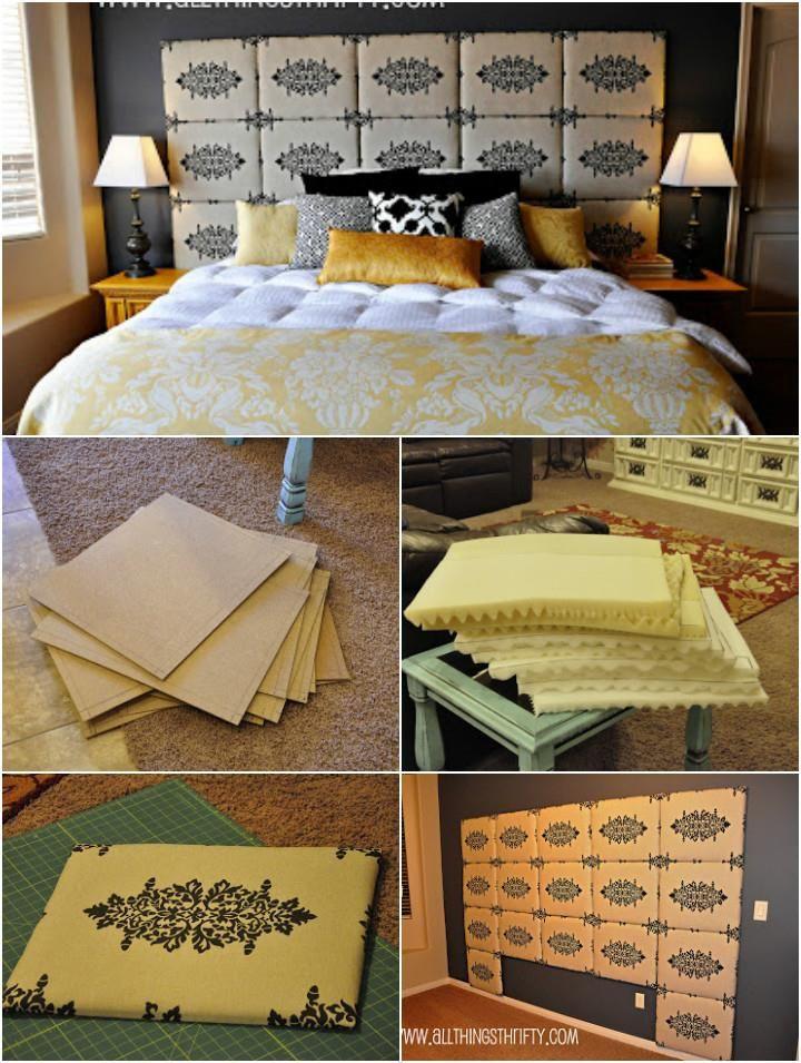 78 Superb DIY Headboard Ideas for Your Beautiful Room | Pinterest ...