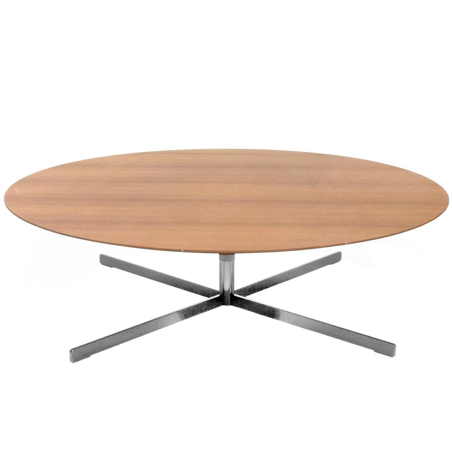 Wood Top Bob Low Coffee Table by Jean Marie Massaud for Poltrona