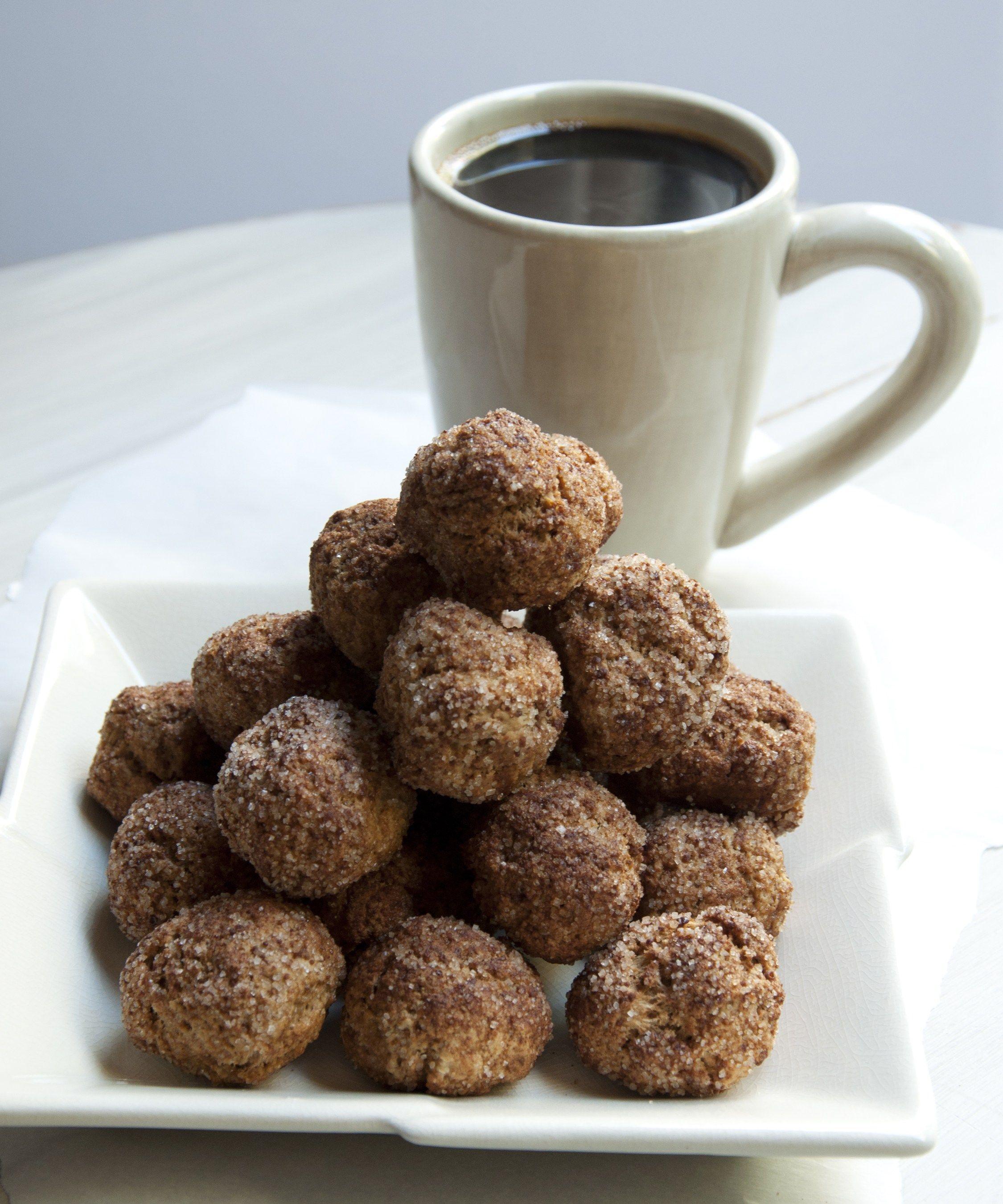 Doughnut Holes recipe from The Vegan Air Fryer Recipe