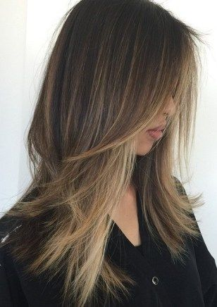 500 Long Hairstyles And Haircuts For Long Hair To Try In 2021 Long Thin Hair Thin Straight Hair Balayage Straight Hair